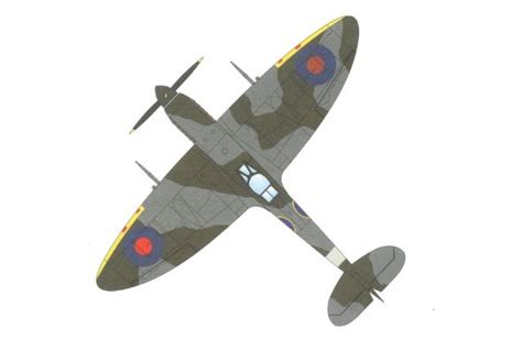 How To Make A Paper Spitfire - wwii supermarine spitfire mk ix fighter ver 3 free