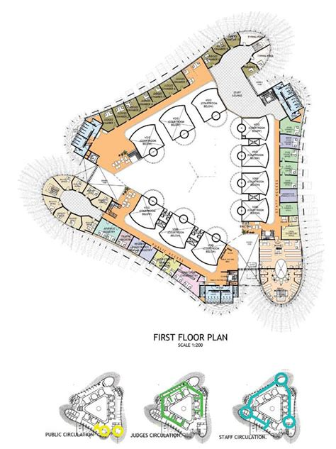 royal courts of justice floor plan floor plans dallas museum of art house design and