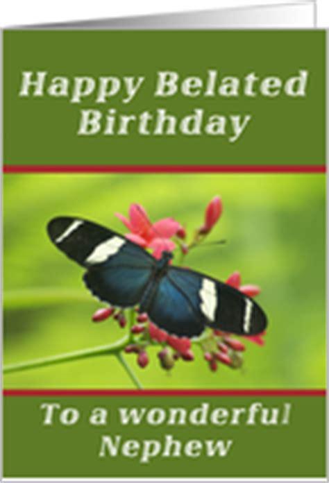 Happy Belated Birthday Wishes For Nephew Belated Birthday Cards For Nephew From Greeting Card Universe