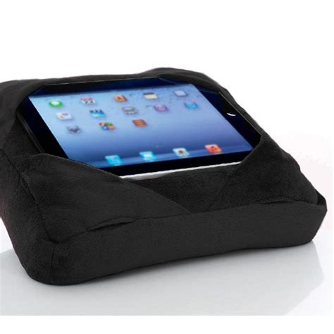 Gogo Travel Pillow by Six Pad Go Go Pillow Tablet Cushion Book Rest Black