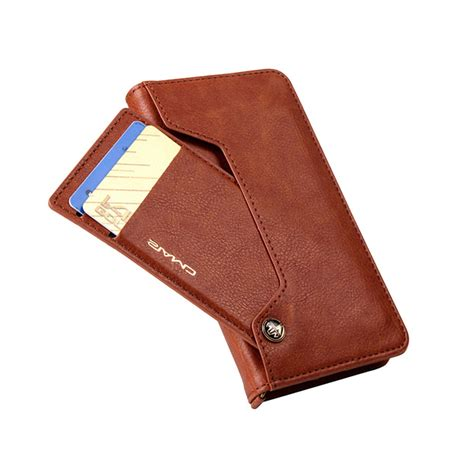 Flip Leather Wallet Card Dompet Kulit Cover Casing Diskon Luxury Card Slot Stand Flip Leather Wallet Cover For