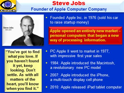 biography of steve jobs powerpoint lessons from steve jobs 12 rules of success how to