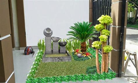 Pohon Sikat Botol Bunga Merah Pohon Hias Berdaun Wangi jasa tukang pembuatan taman relief kolam minimalis di
