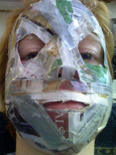 How To Make Paper Mache Masks - best 25 paper mache mask ideas on paper mache