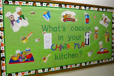 kitchen bulletin board ideas the corner on character paws and think