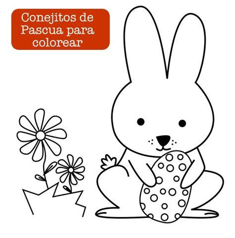 imagenes de pascuas navideñas para colorear conejito de pascua easter bunny http dibujos para