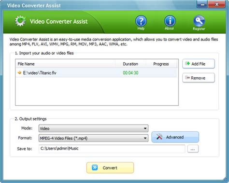 q format converter how to convert flv to mp4 and mp4 to flv with original quality