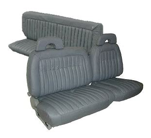 Chevy Truck Seat Upholstery by Chevrolet Truck Seat Covers 1992 1995 With 60 40 Split