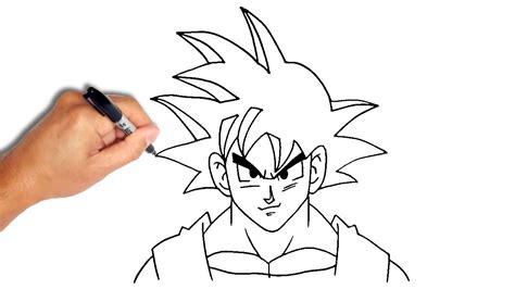 Drawing Goku by Goku How To Draw Goku How To Draw Kid Goku Drawing