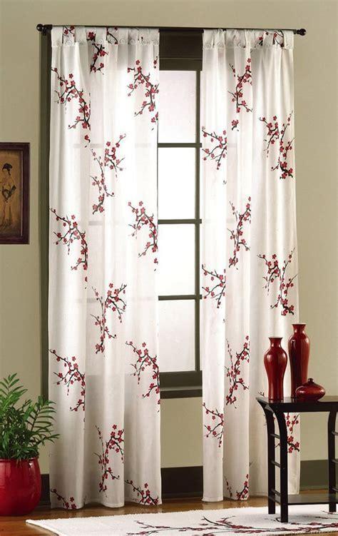 Different Curtain Design Patterns   Home Designing
