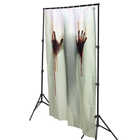 halloween shower curtain hooks halloween horror blood bath polyester shower curtain