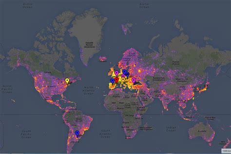 die meisten modernen häuser der welt wo werden die meisten fotos gemacht interaktive karte