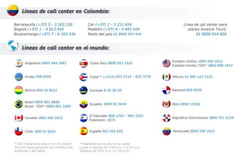 consulta el itinerario de tu vuelo avianca telefonos call center de avianca en colombia las