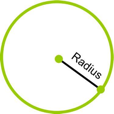 Radius by Math Dictionary Radius