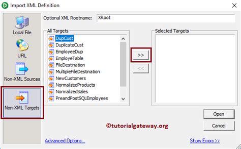 xml gateway tutorial xml generator transformation in informatica 14