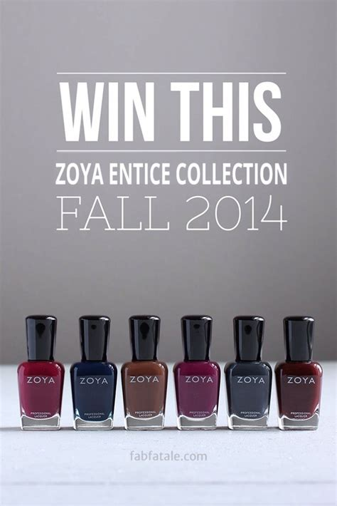 Yet Another Fab Bafab Giveaway by Win This Zoya Entice Collection Giveaway Fab Fatale