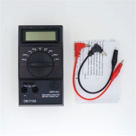 test capacitor analog multimeter check ac capacitor multimeter 28 images digital ammeter multimeter capacitor tester type k