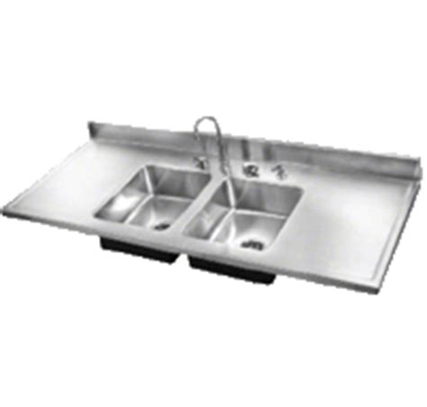 stainless steel sink with drainboard usa made just mfg