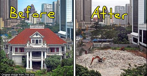 kl a history of for the first time in history malaysian heritage buildings are going to be de heritaged