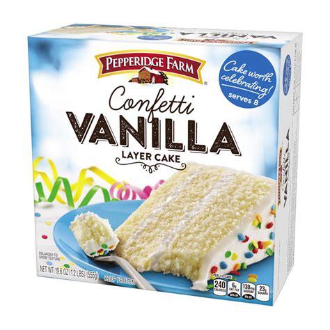 pepperidge farm  layer cake vanilla reviews