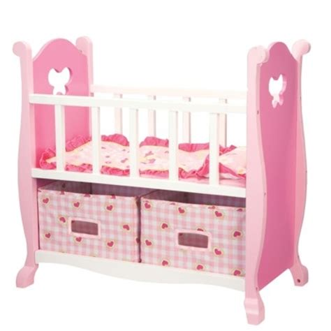 target american girl doll bed faux american girl bitty baby crib doll bitty baby