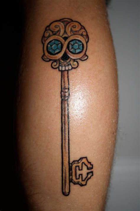 skeleton key tattoos 1000 ideas about skeleton key tattoos on key