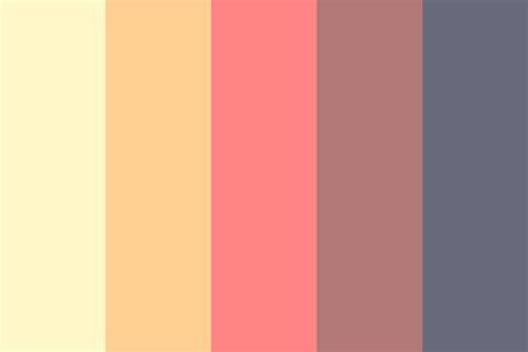 light color palette light fall color palette