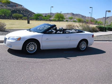 2004 chrysler sebring touring convertible 2004 chrysler sebring pictures cargurus