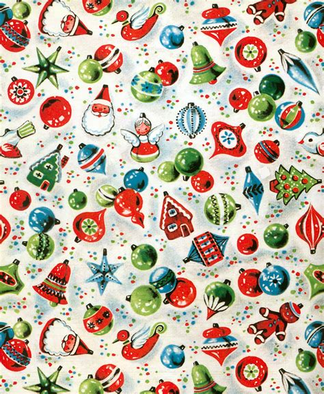 free printable vintage wrapping paper christmas wrapping paper love the retro designs we used