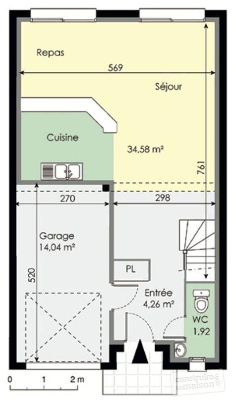 la maison möbel plan fondation maison etage