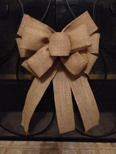 how to make a burlap bow tree topper burlap bow tree topper wedding bow burlap pew bow burlap