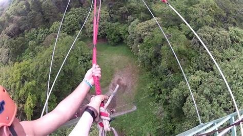 costa swing huge tarzan swing costa rica 2013 youtube