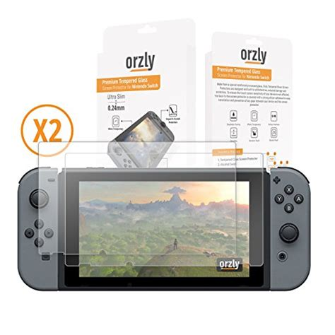 Screen Guard Nintendo Switch China 1 screen protector nintendo switch orzly premium tempered glass 0 24mm screen protector