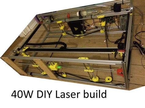 cutting laser diode diy diy 40w cnc laser cutter from bad to better with 3d printing