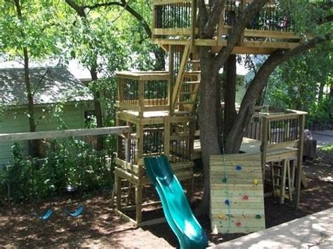 tree house plans without a tree tree house fort playscape club house