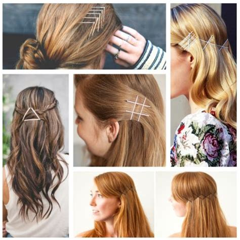 12 simple ways to wear bobby pins ma nouvelle mode hairstyles with bobby pins and hair ties hair