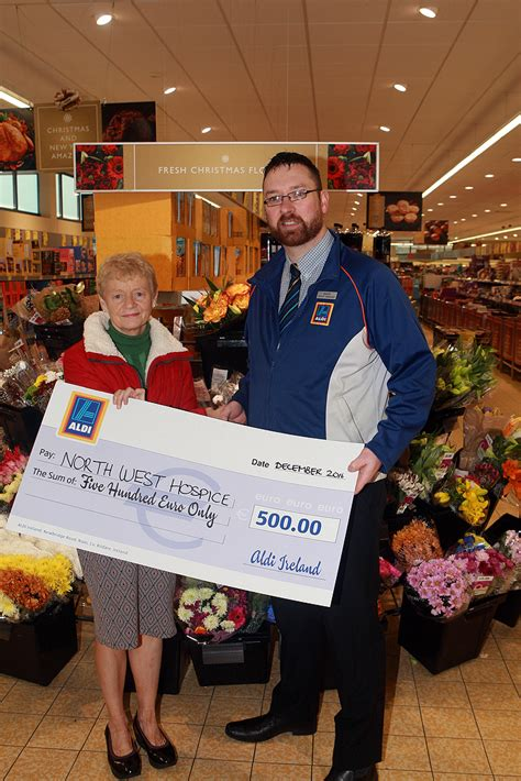 charity letterkenny donegal charities get windfall from new aldi