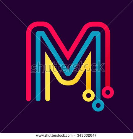 letter m layout letter m stock images royalty free images vectors