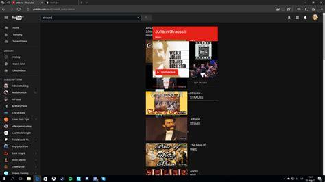 youtube layout weird strange layout bug on edge any suggestions youtube