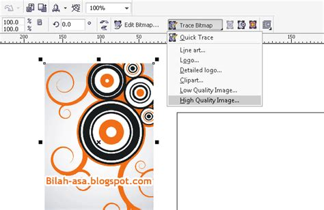 format gambar pada corel draw bagaimana memisahkan objek berdasarkan warna dari gambar