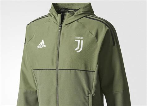 Jaket Hoodie Juventus 1 adidas juventus presentation jacket base green black equipment football shirt
