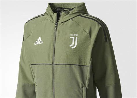 Jaket Hoodie Green adidas juventus presentation jacket base green black equipment football shirt