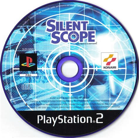 Disk Ps2 silent scope bomb