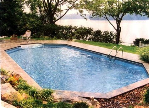 grecian pools grecian style pool semi inground pools pinterest