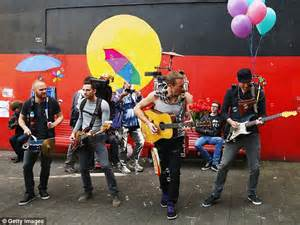coldplay king coldplay film music video clip in sydney for single a sky