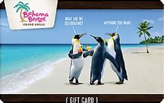 Bahama Breeze Gift Card Deal - buy bahama breeze gift cards giftcardplace