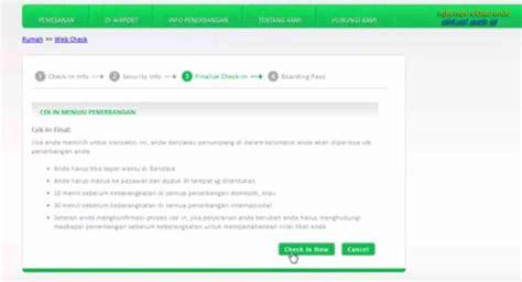 citilink print tiket cara terbaru web check in citilink online informasi aktual