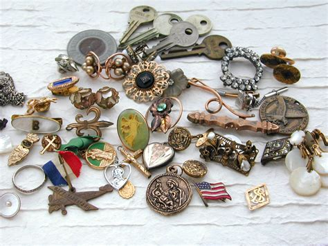 trinkets and judith b designs pile of trinkets and a winner
