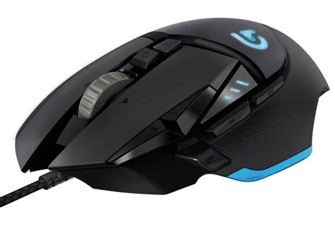 Logitech Gaming Mouse G502 Proteus Spectrum T1910 2 logitech g502 proteus spectrum rgb tunable lightings tech news and reviews linus tech tips