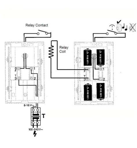 single doorbell push to two battery chimes page 3